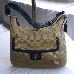 Coach Penelope Signature Convertible Bag F19232